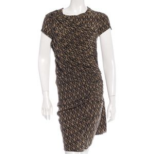Étoile Isabel Marant silk printed dress 0